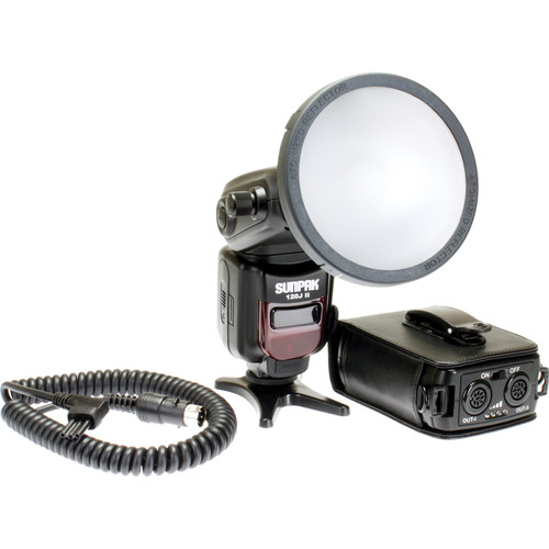 Sunpak 120J II Flash Kit for Nikon Cameras