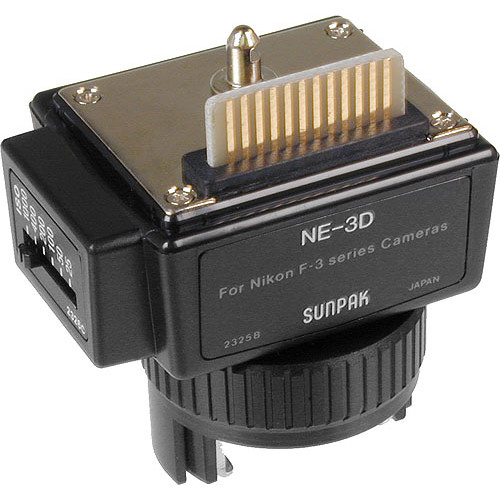 Sunpak NE-3D Dedicated Module for Nikon F3
