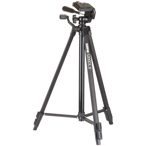"Sunpak 5200DLX 52"" Digital Tripod (Black)"