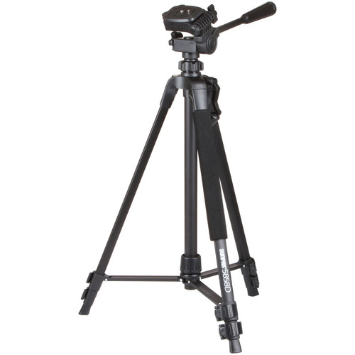 Sunpak 5858D Tripod with 3-Way, Pan-and-Tilt Head