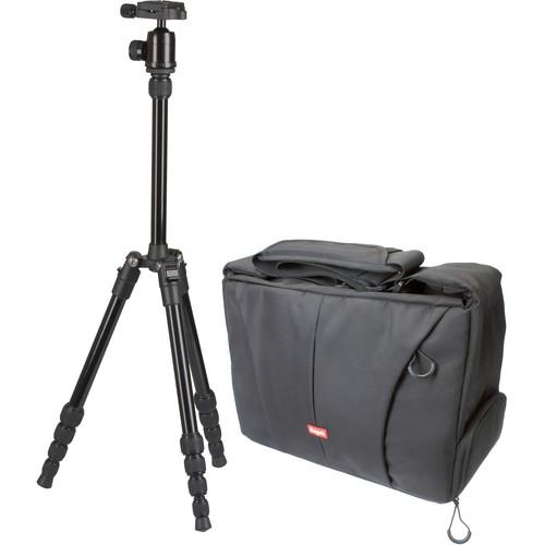 Sunpak TravelLite 60 Aluminum Tripod with Camera Bag