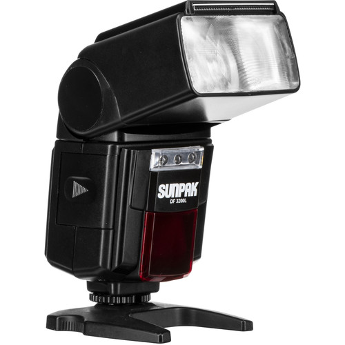 Sunpak DF3200L Flash with Built-in LED Video Lights