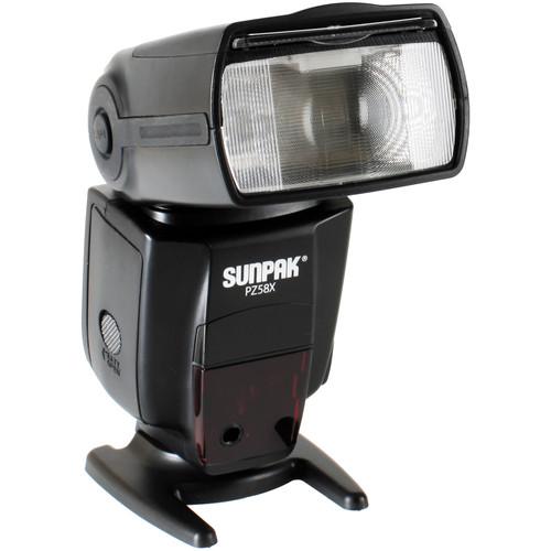Sunpak PZ58x Flash for Nikon Cameras