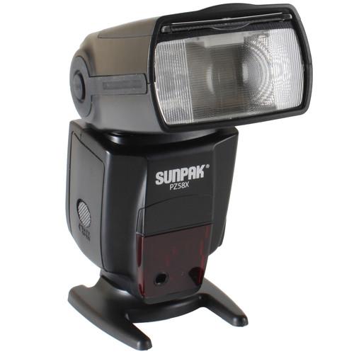 Sunpak PZ58x Flash for Sony Cameras