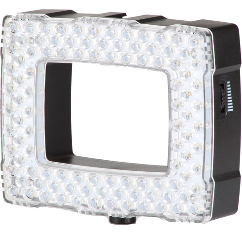 Sunpak 102 LED VIDEO LIGHT with Clear and Color Correction Filter