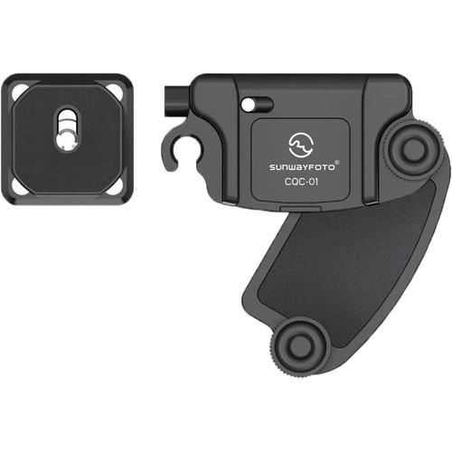 Sunwayfoto Camera Quick-Release Clip (Black)