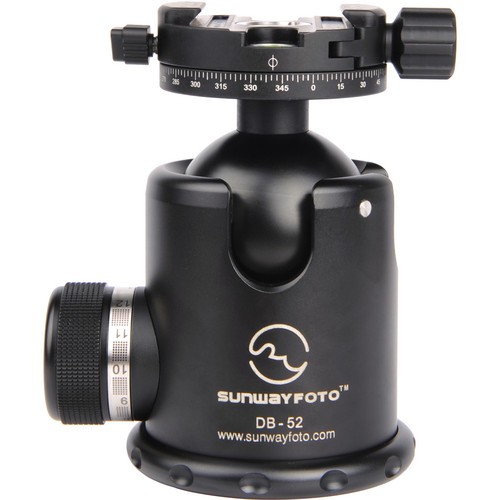 Sunwayfoto DB-52DDH3 Ballhead with DDH-03 Panning Clamp