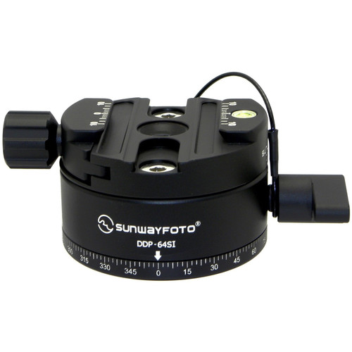 Sunwayfoto DDP-64SI and DDY-64I Indexing Rotator Combo