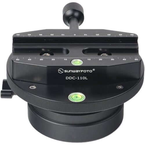 Sunwayfoto DYH-120TRON Leveling Base with DDC-110L Clamp