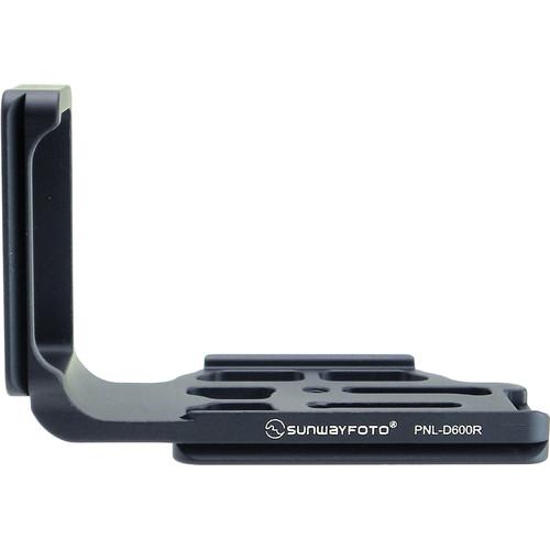 Sunwayfoto PNLD600R L-Bracket for Nikon D600 DSLR Cameras (RRS Compatible)