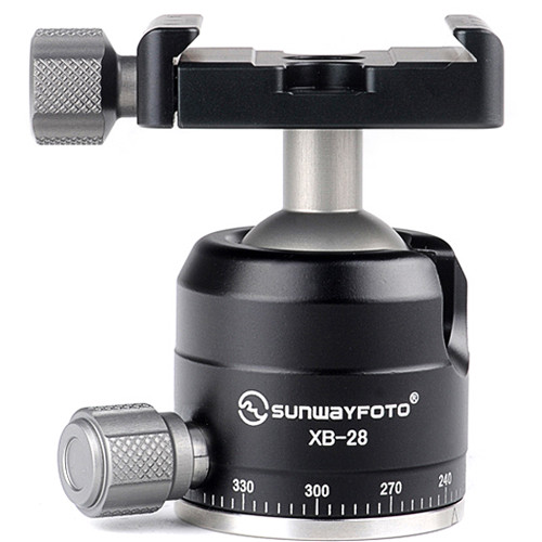 Sunwayfoto XB-28 Low-Profile Ball Head