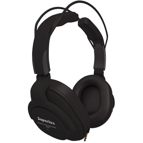 Superlux HD-661 Professional Closed-Back Studio Headphones (Black)
