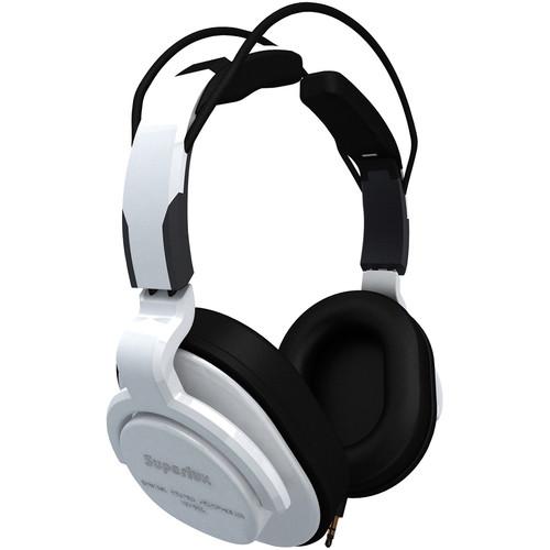 Superlux HD-661 Professional Closed-Back Studio Headphones (White)