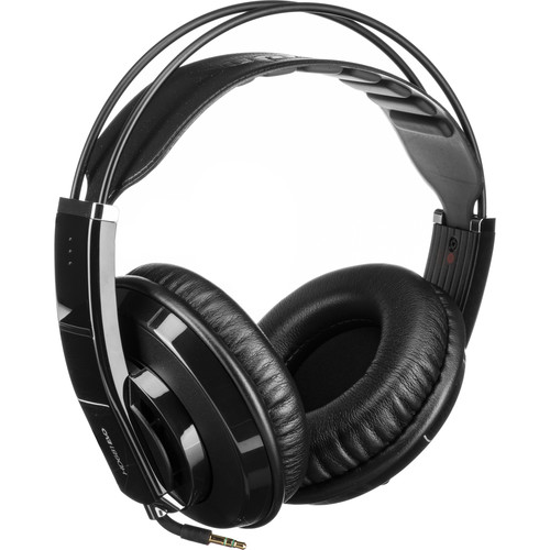 Superlux HD-681EVO Professional Semi-Open Headphones (Black)