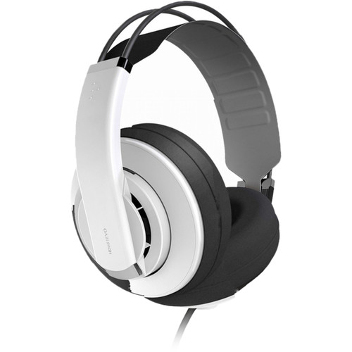 Superlux HD-681EVO Professional Semi-Open Headphones (White)