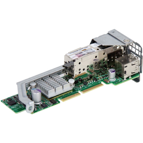 Supermicro Dual Port 10 GbE Adapter for MicroCloud and Twin Server Systems with microLP Expansion Slot