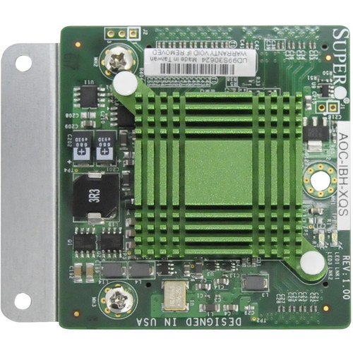 Supermicro Single Port Low-Latency InfiniBand Adapter Card for SuperBlade