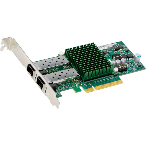 Supermicro 2-Port SFT+ Flexible and Scalable 10GbE Adapter