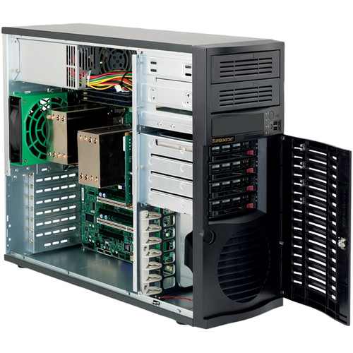 Supermicro SuperChassis 733i-500B Mid-Tower E-ATX Chassis