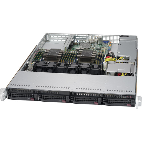 Supermicro SuperChassis 815TQC-605WB w/o Chas 600W Quick Release