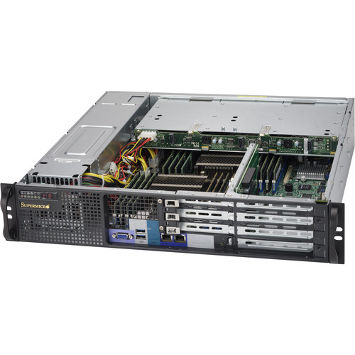 "Supermicro SuperChassis for 12.8 x 13.4"" Motherboards (2 RU)"
