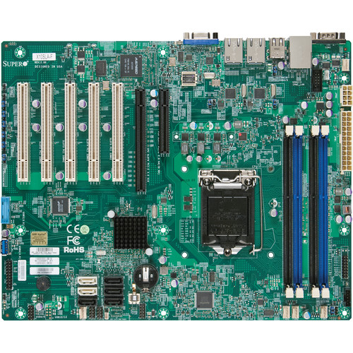 Supermicro X10SLA-F Server Motherboard