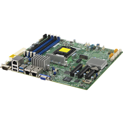Supermicro X11SSH-TF microATX Motherboard with Intel C236 Chipset