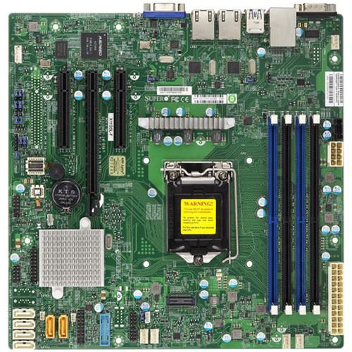 Supermicro X11SSL Intel C232 Micro-ATX Motherboard