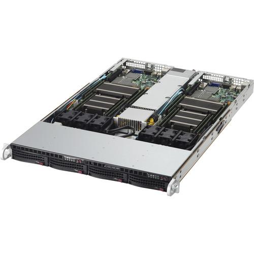 Supermicro 1 RU Twin SuperServer with Intel Xeon Processor E5-2600