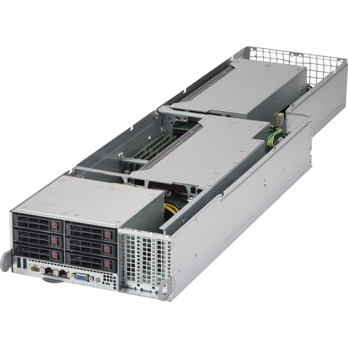 Supermicro SuperServer FatTwin F628G2-FTPT+ 4-Node Barebone NAS System