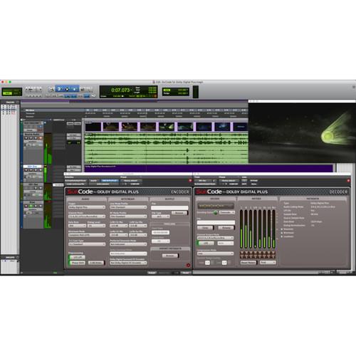 SurCode Dolby Digital Plus Bundle Encoding/Decoding Software for Postproduction (Download)