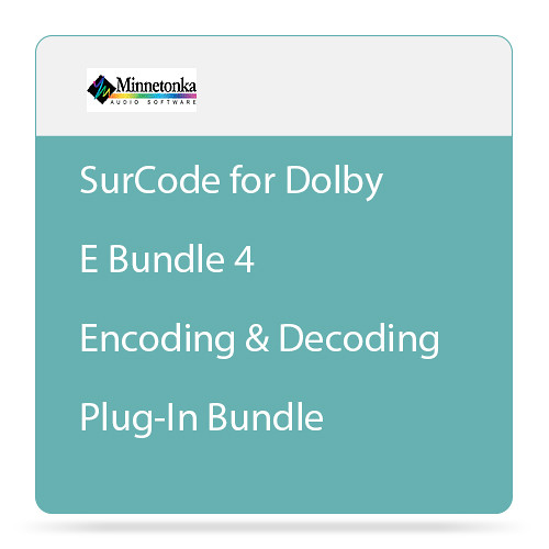 SurCode for Dolby E Bundle 4 - Encoding and Decoding Plug-In Bundle (Download)