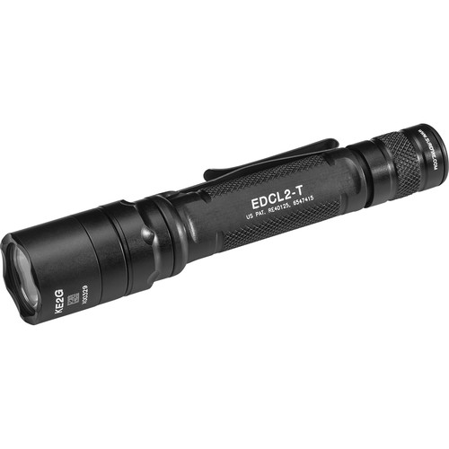 SureFire EDCL2-T Dual-Output Everyday Carry LED Flashlight