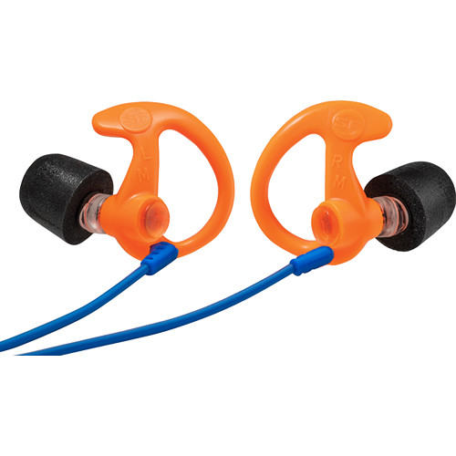 SureFire EP10 Sonic Defenders Ultra Max Foam-Tipped Earplugs (Large, Orange, Pair)