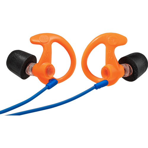SureFire EP10 Sonic Defenders Ultra Max Foam-Tipped Earplugs (Medium, Orange, Pair)