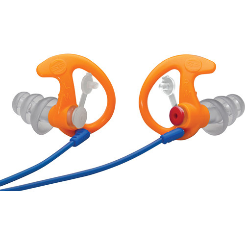 SureFire EP4 Sonic Defenders Plus Earplugs (Medium, Orange, 25 Pairs)