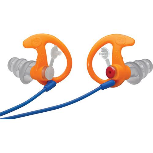 SureFire EP4 Sonic Defenders Plus Earplugs (Medium, Orange, 1 Pair)
