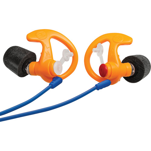 SureFire EP7 Sonic Defenders Ultra Earplugs (Large, Orange, 25 Pairs)