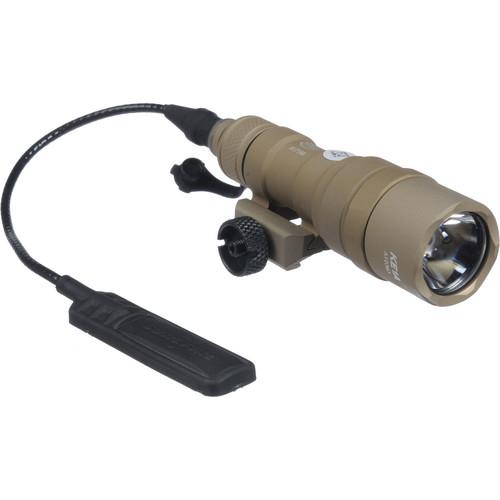 SureFire M300B Mini Scout LED Weaponlight (Tan, Dual Switch)