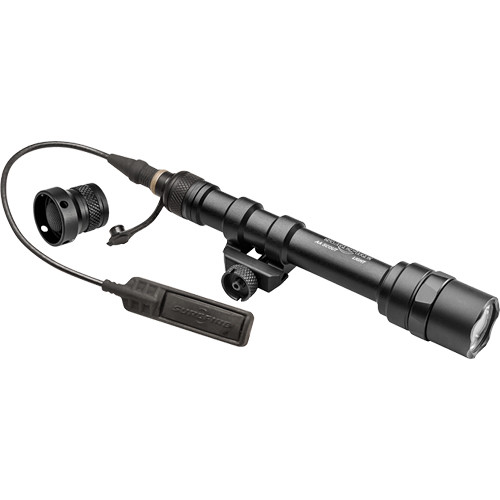 SureFire M600AA Scout Light LED WeaponLight (Black, Dual Switch)