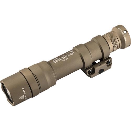SureFire M600DF Scout Light Dual-Fuel LED Weapon Light (Tan)