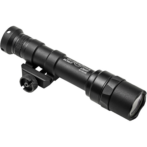 SureFire M600 Ultra Scout Light LED Weaponlight (Black, Single Switch)