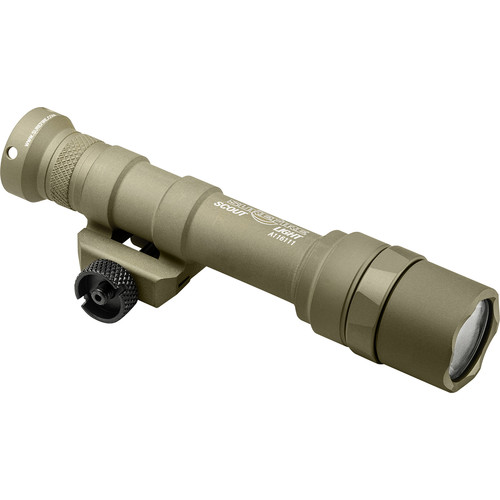 SureFire M600U Ultra Scout Light LED Weapon Light (Tan, Single Switch)