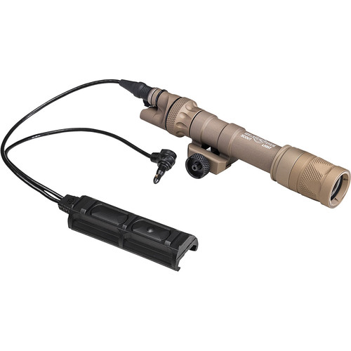 SureFire M603V Vampire Scout Light Visible/IR LED Weaponlight with Remote Switch and Thumbscrew Mount (Tan)