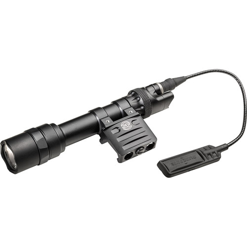 SureFire M613 Ultra Scout Light LED Weapon Light with DS-SR07-D-IT Switch Assembly and RM45 Offset Mount (Black)
