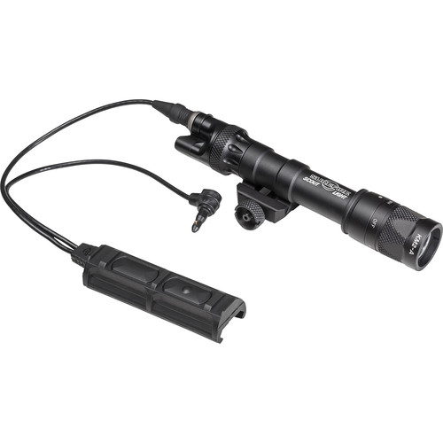 SureFire M613V Vampire Scout Light with DS-SR07-D-IT Switch Assembly and RM45 Offset Mount (Black)