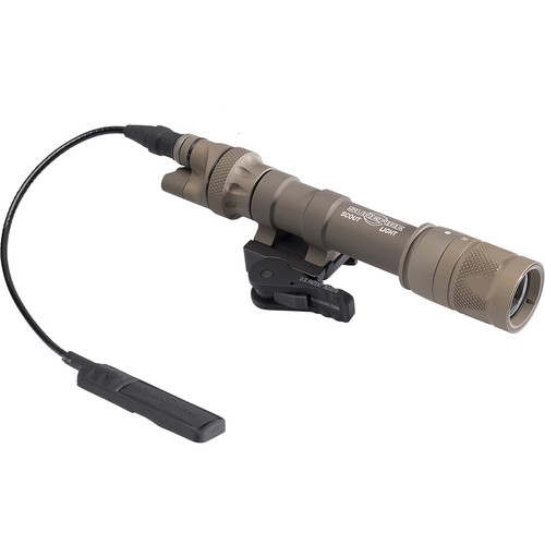 SureFire M622V Vampire Scout Light Visible/IR LED Weapon Light with DS07 Switch and ADM Mount (Tan)