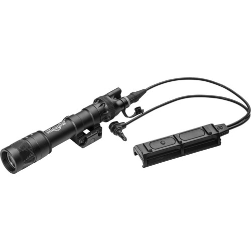 SureFire M623V Vampire IR/White LED Scout Light with DS-SR09-D-IT Switch and ADM Mount (Black)