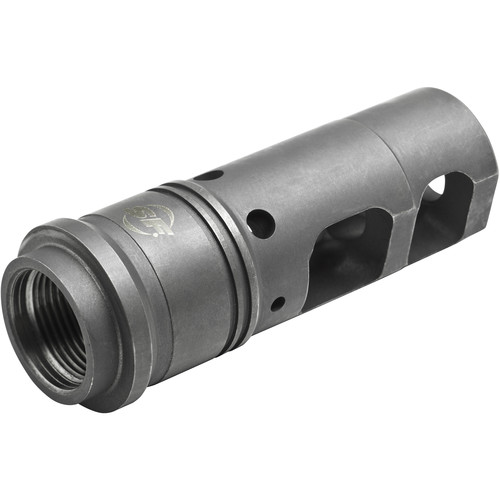 SureFire SFMB-338 Muzzle Brake/Suppressor Adapter for 8.6mm Caliber Rifle with 3/4-24 Thread