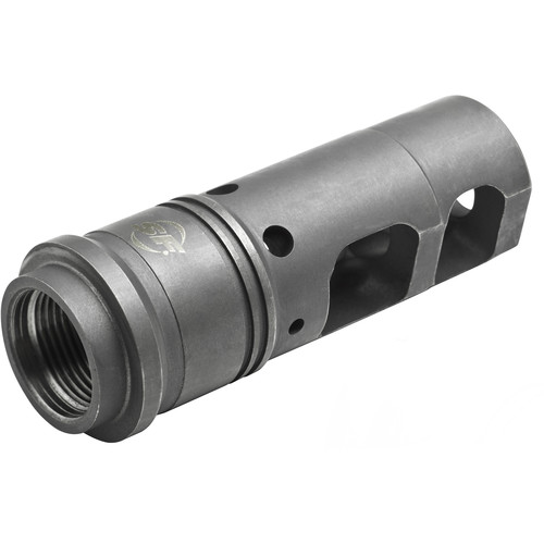 SureFire SFMB-338 Muzzle Brake/Suppressor Adapter for 8.6mm Caliber Rifle with M18x1.5 Metric Thread